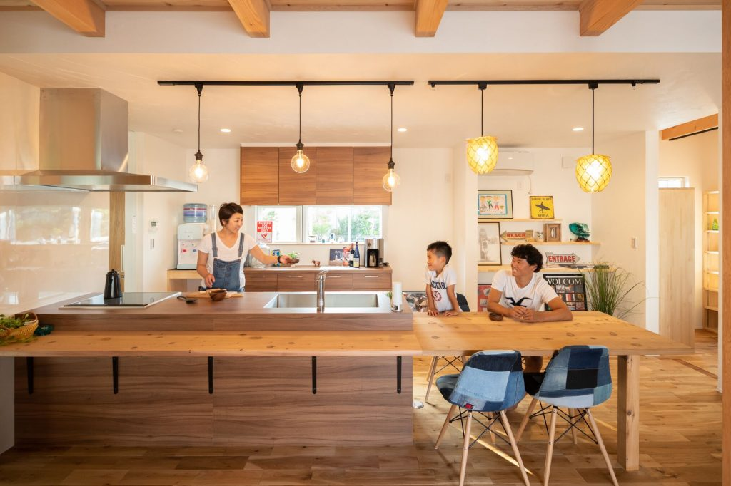家がおしゃれになる!吹き抜けのメリットとは?徳島で注文住宅で暮らそう